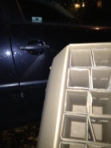 deze foto is geënsceneerd